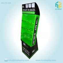 Custom Printing high quality corrugated display craft store display fixture