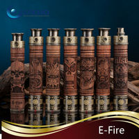 2013 Newest wooden e-fire e-cigarette mechanical mod