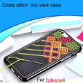 DFIFAN Cheap Price Cross Stitch DIY Phone Case for Apple iphone 6 6s, Smart Phone Case for Apple iphone case tpu Embroidery