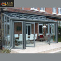 Grey color aluminium glass garden summer houses