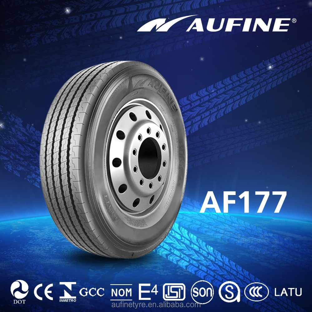 11R22.5 Aufine brand manufactory directly truck tyres with E-MARK NOM INMETRO