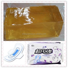 Hygiene product elastic hot melt adhesive for medical non-woven dressing