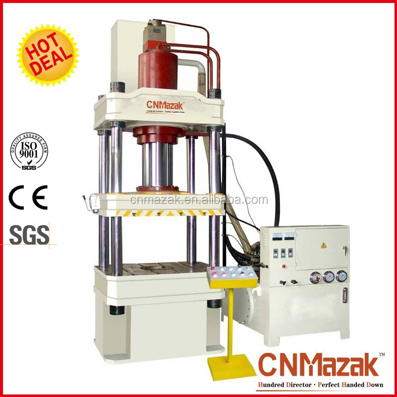 Boduan-315T hydraulic press with cushion for deep drawing