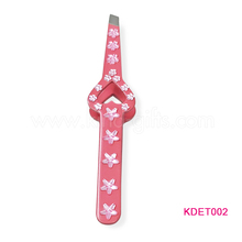 Luxurious Rhinestone Eyebrow Tweezers Lady Design Personalized Eyebrow Tweezer Supplier Factory