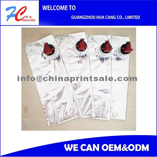 5l 10l Plastic Bag In Box Fruit Juice Packaging With Carton