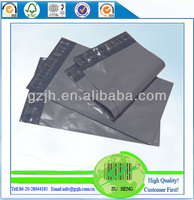 2015 hot wholesale grey plastic mailing bags with good quality
