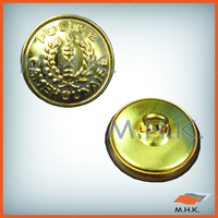 Military Metal Button