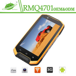Outdoor mobile phone waterproof IP68 military cellphone android 4.4 big screen 4.7inch 2GB+16GB rugged phone 4g