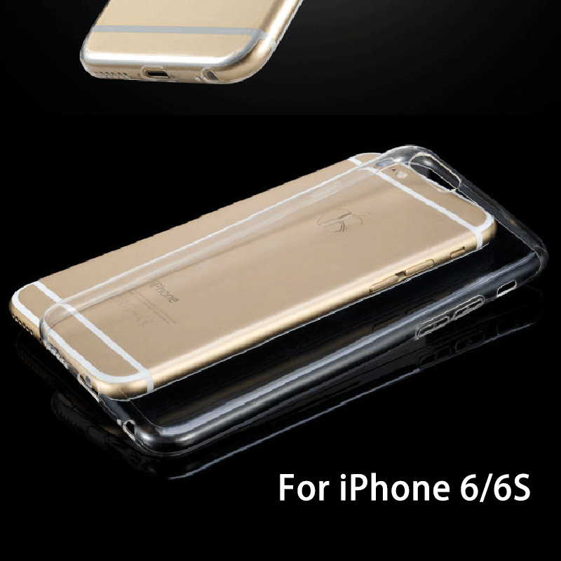 hot sale Transparent clear tpu mobile phone case cover for iphone 6 6s plus