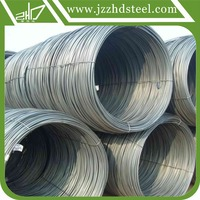 Drawn Wire Type and ASTM AISI Standard low carbon steel wire rod