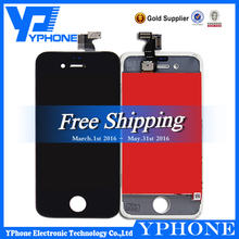 For iphone 4 LCD With Digitizer Touch Screen Assembly Mobile Phone,Replacement For Iphone 4 LCD Sreen