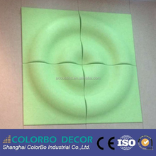 3D Effect Polyester Fibre Acoustic Ceiling Wall Panels