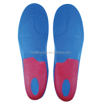 Breathable Molded Orthopedic Orthotic Sport Eva Insole for the foot