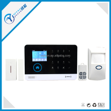 WIFI GSM GPRS 3G Wireless LCD Display Home Security Alarm System with IOS Andriod App Operation