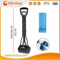 Chi-buy Dog Pooper Scooper Dog Waste Removal Dog Poop Pick Up With Free Waste Bag