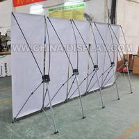 Economical Portable Butterfly x banner display stand
