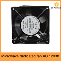 Industrial microwave oven cooling fan of ac 12038 for cooling fan 220v
