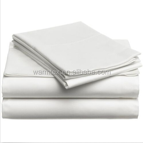 100% cotton bed sheets for home hotel OEM size available