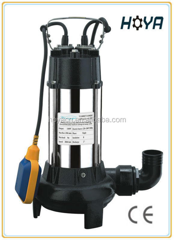 Submersible Sewage Pump with Cutting System