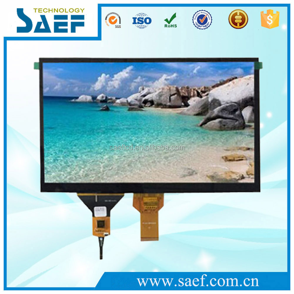 laptop screen 10.1 inch 1024x600 WSVGA with Capacitive Touch Panel TFT lcd monitor