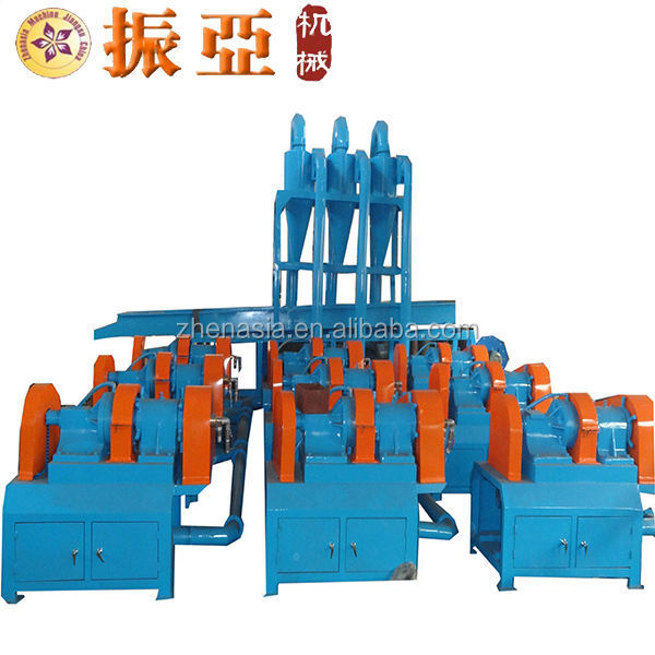 selling automatic rubber tubing shredder/recycle rubber crumb production machinery