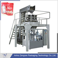 CF8-200A Automatic 8-station rotary filling packaging machine for candy