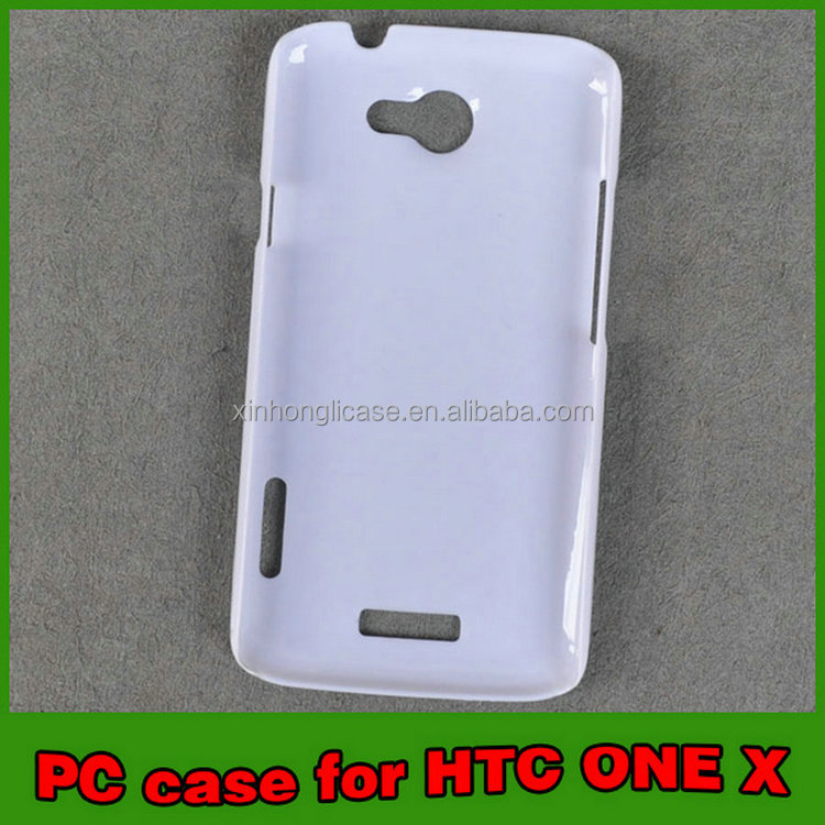 Practical Promotional Skin paste groove china plastic phone case for HTC ONE X