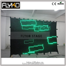 cable make equipment outdoor led curtain