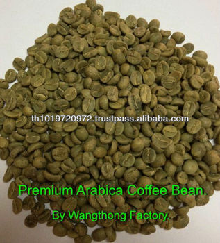 Arabica Coffee Bean Excellent Quality From Thailand