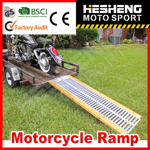 HESHENG 2014 HOT SALE MOTORCYCLE RAMPS WITH CE APPROVED