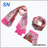 low moq wholesale spring printed scarf