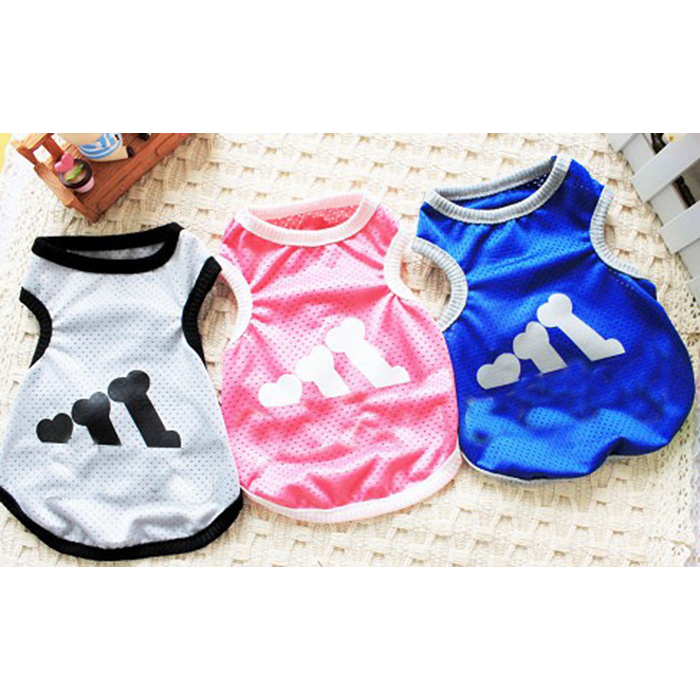 Happy life Dog Cotton Coat Vest Cool Hoodie Cute Vulnerability Pet Clothes for dogs
