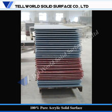 Factory supply Pure / Blended Acrylic Solid Surface Slabs