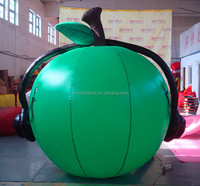 Advertising Inflatable apple model ,inflatable apple