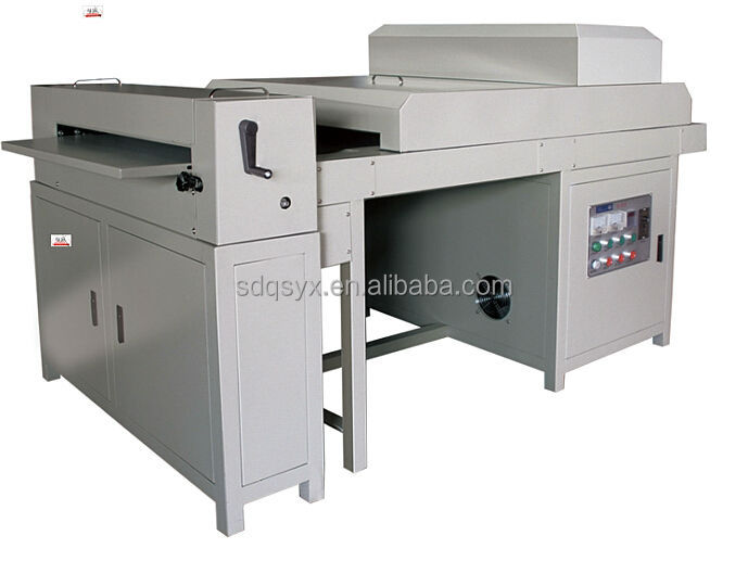 650 UV liquid coating machine for digital prints on sale made in China