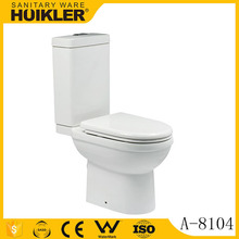Modern one piece high efficiency eco high volume automatic flush toilet