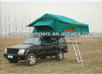 Rooftop Tent with base extension