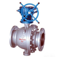 carbon flange ball valve / dn 350 ball valve / trunnion mounted ball valve