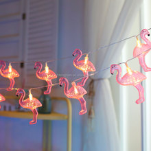 high quality flamingo pink led string light