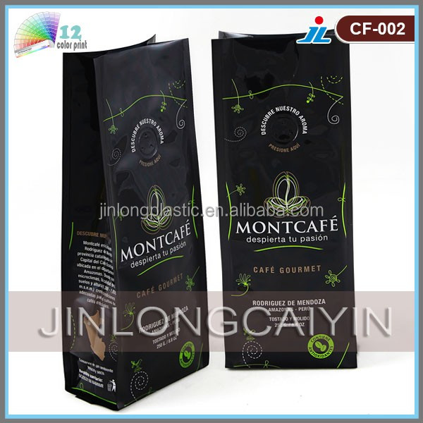 Manufacturer wholesale coffee carrier bag, coffee bag, coffee packaging bag