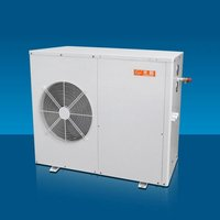 High efficiency heat pump air to water converter with EUROPE energy labels