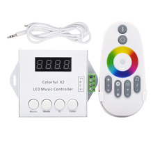 Latest new model best brand 5vdc ~ 24vdc 350g ws2812b colorful x1 music ws2811 led controller