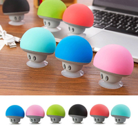 Music Player Sucker Holder Stand Function Mini Mushroom Wireless Speaker