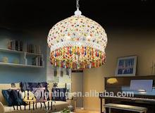 Murano plastic crystal chandelier with cleaning Crystal