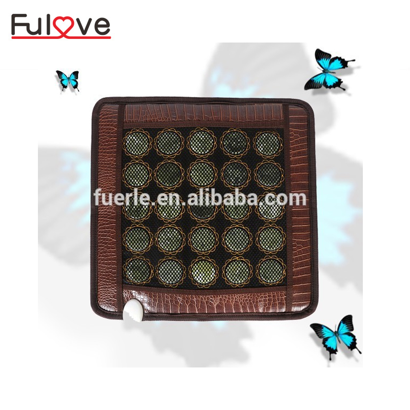 Hot jade heat therapy products mini heating health pad germanium thermal stone korea jade mattress