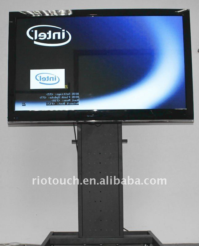 Infrared multi touch screen monitors