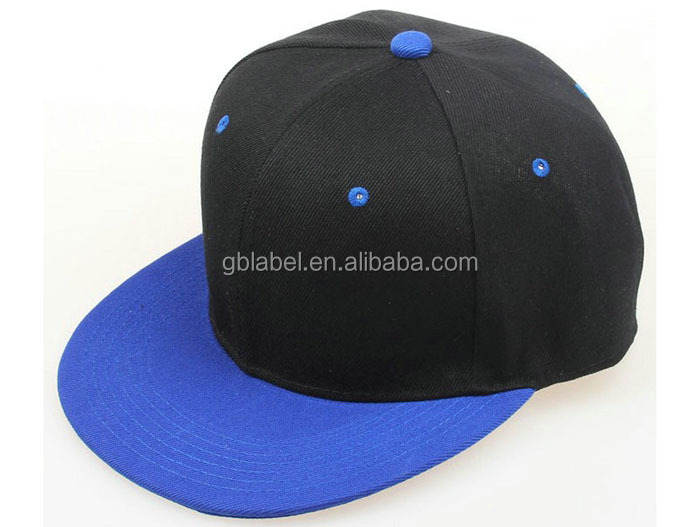 cheap wholesale black embroidery polyester snapbacks for 5 dollars