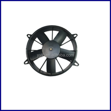 China high quality and high efficiency air conditioning condenser fan, bus fan manufacturer, auto ac condenser 2014 product