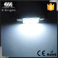 High Power 3W Auto Car Festoon LED Licence Plate Light Aluminum housing Interior Dome Roof Reading Car Light