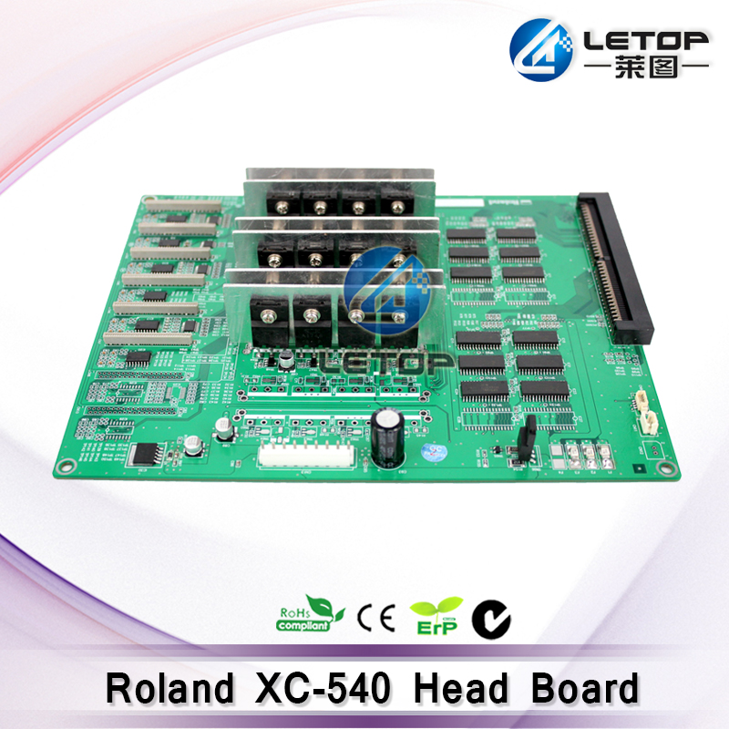 Brand New Roland XC-540 Dx4 Head Printer Head/Carriage Board